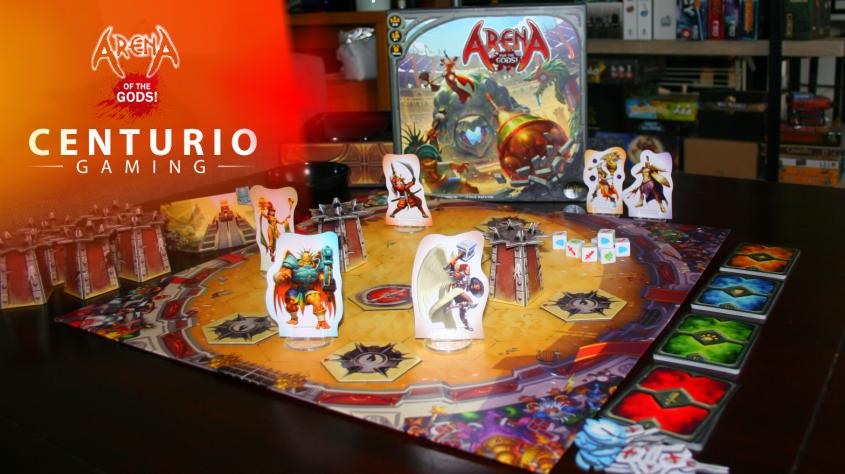 Arena for the Gods jeu de société